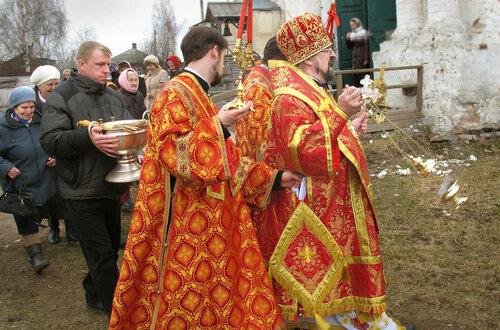 2017. Епископ Алексий. Пасха. г.Солигалич.
