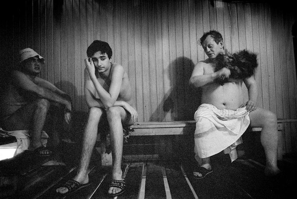 Сандуновские бани Москвы на снимках Джереми Николла