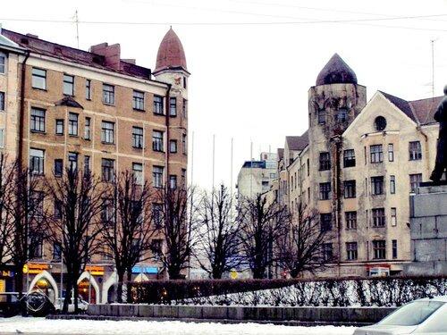 На Красной площади в  Выборге