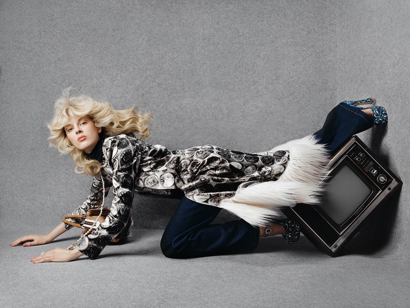 From the 70's для The Claw Fashionbook #3 / фотограф Tatiana Dumabin