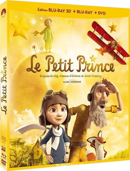 Маленький принц / The Little Prince / 2015 / ДБ, СТ / 3D (HOU) / BDRip (1080p)