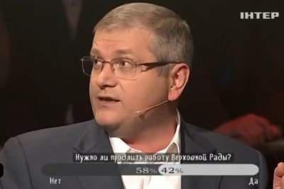 Экс-регионал сорвал эфир ток-шоу словами оМайдане