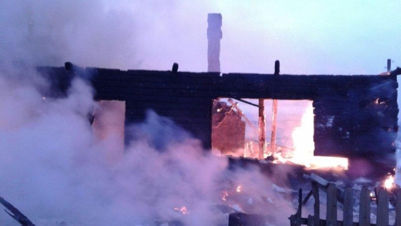 ВЛесозаводском впожаре  погибли два человека