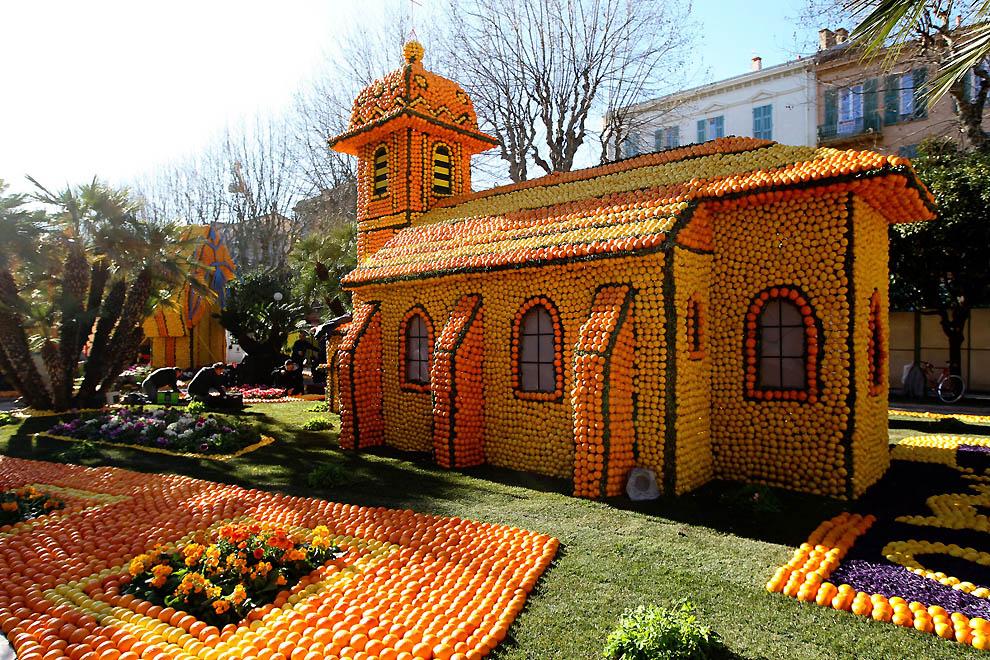 6. Апельсиново-лимонная церковь. (Valery Hache, AFP / Getty Images)