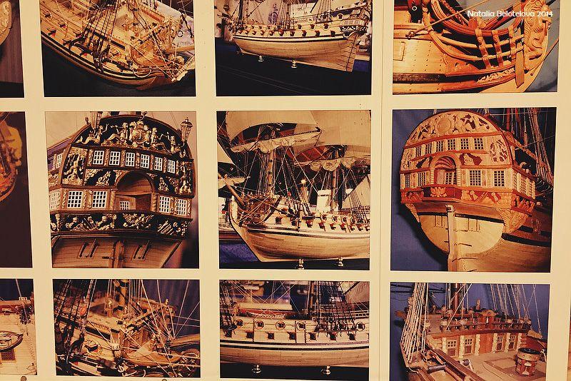 Полный внешний вид корабля есть только на черно-белой гравюре Пикарта 1717 года.