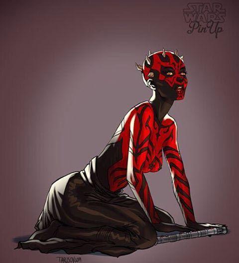 Магистр Йода в образе женщины.