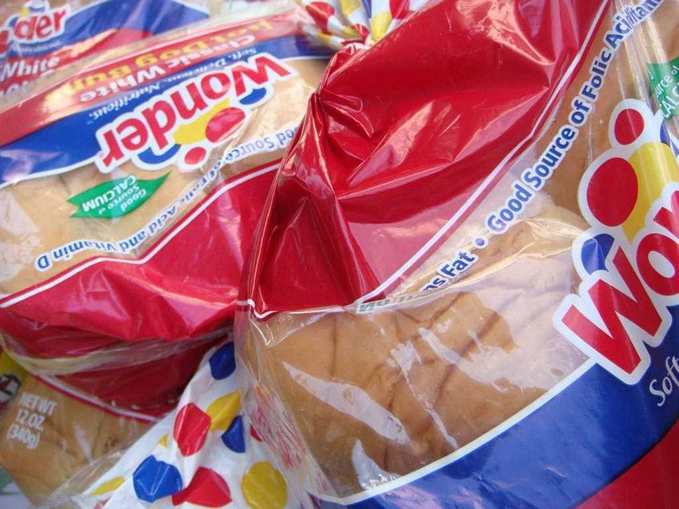 Хлеб из супермаркетов. «Я все еще не перевариваю обычный хлеб из здешних супермаркетов. Он очень сла
