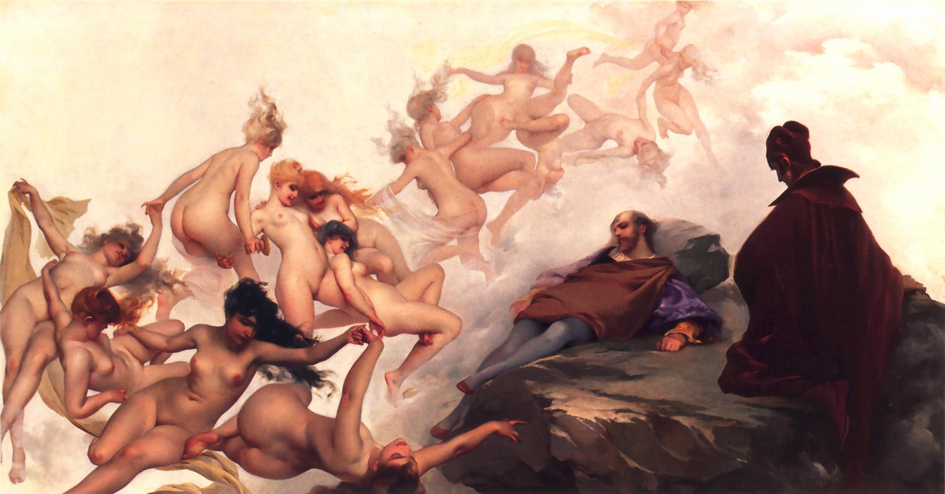 Фауст и Мефистофель. 1880 г. Луис Рикардо родился в 1851 году, в испанском городе Толедо. Окончил шк