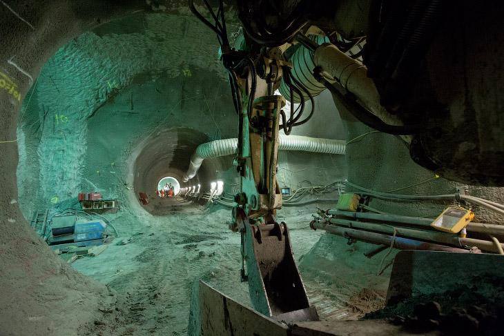 Подземелья Crossrail (25 фото)