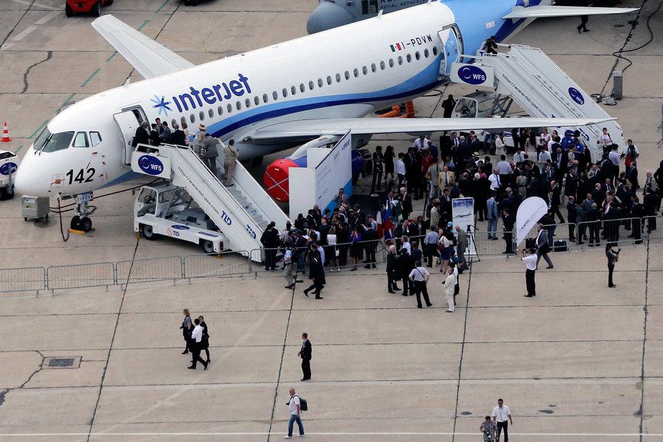 СМИ проинформировали оприостановке полетов 20% Sukhoi SuperJet