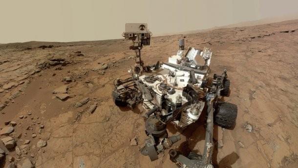 Марсоход Curiosity запечатлел нетипичную для Марса природную аномалию— торнадо
