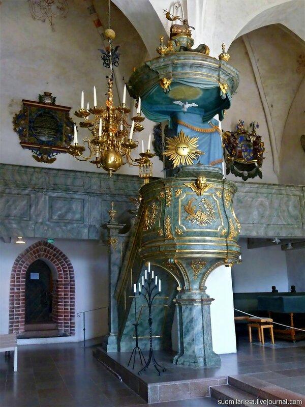 Деревянная кафедра, 1764 г.