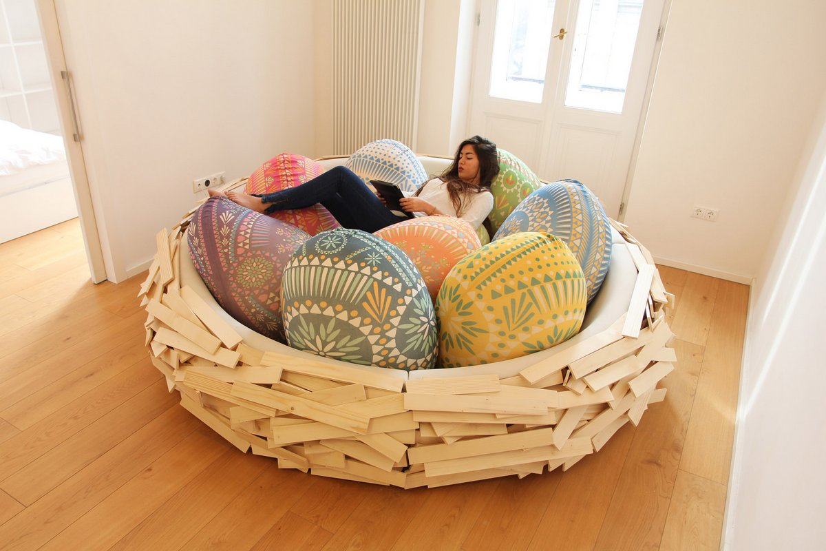 Giant Birdsnest For Humans Breeds New Ideas, Not Chicks (4 pics)