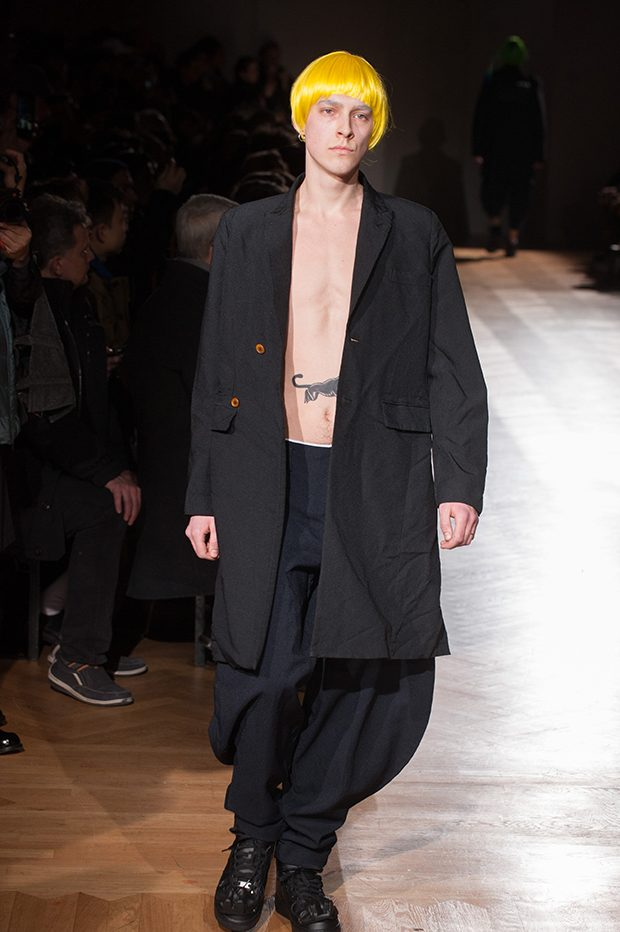 All images courtesy of Comme des Garcons Homme Plus