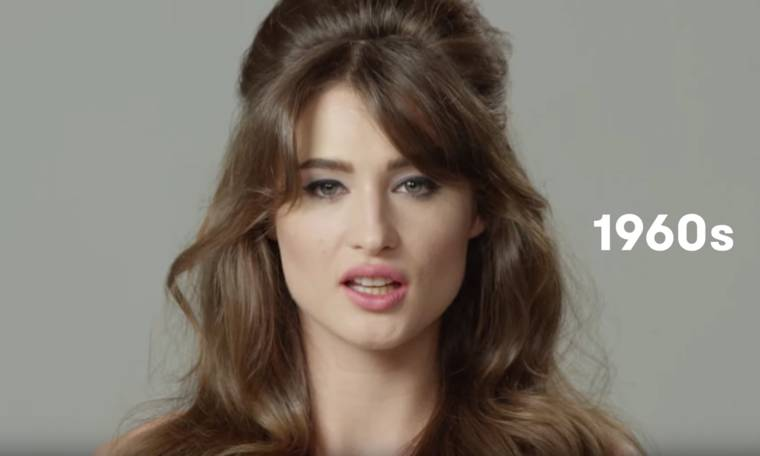 100 years of beauty in one minute – The evolution of style in France (12 pics)