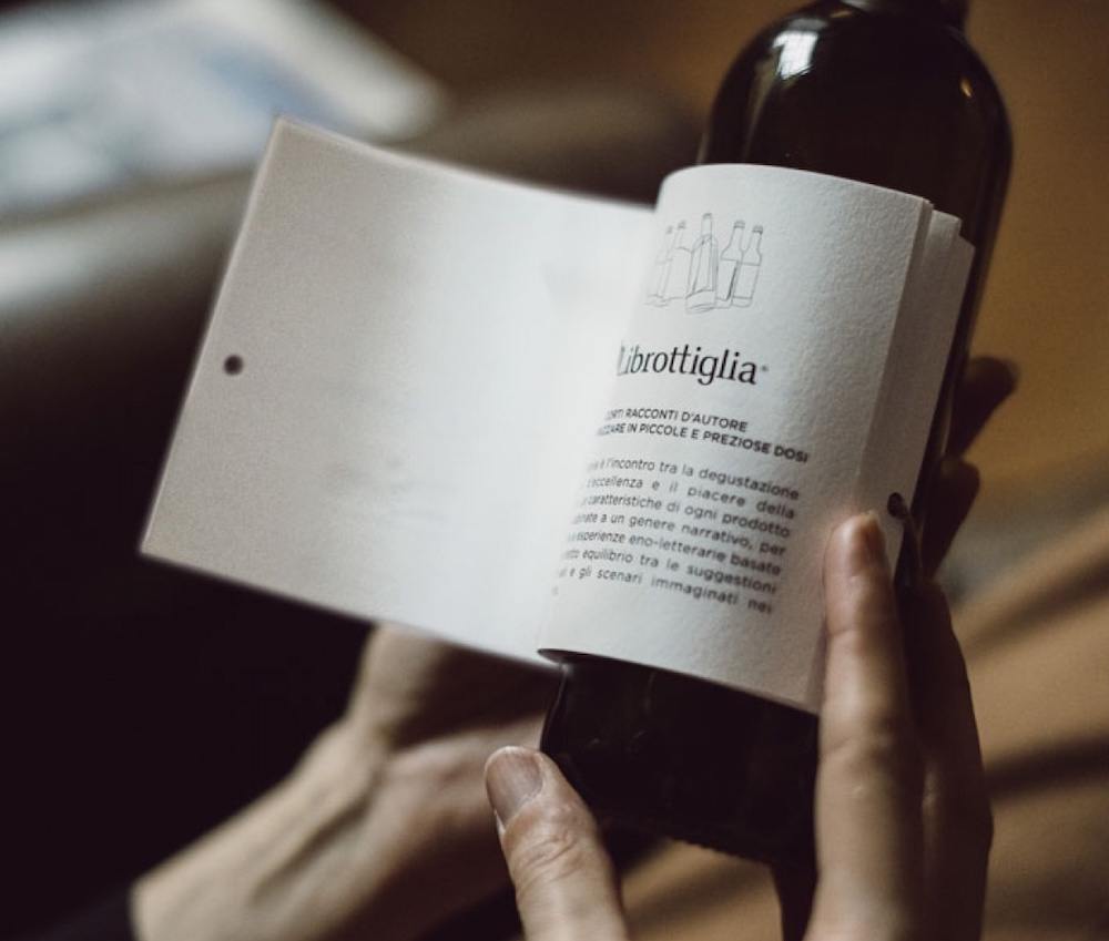 Printed Short Stories That Double as Wine Bottle Labels (6 pics)