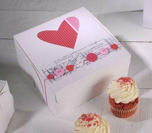 День святого Валентина: упаковка подарка