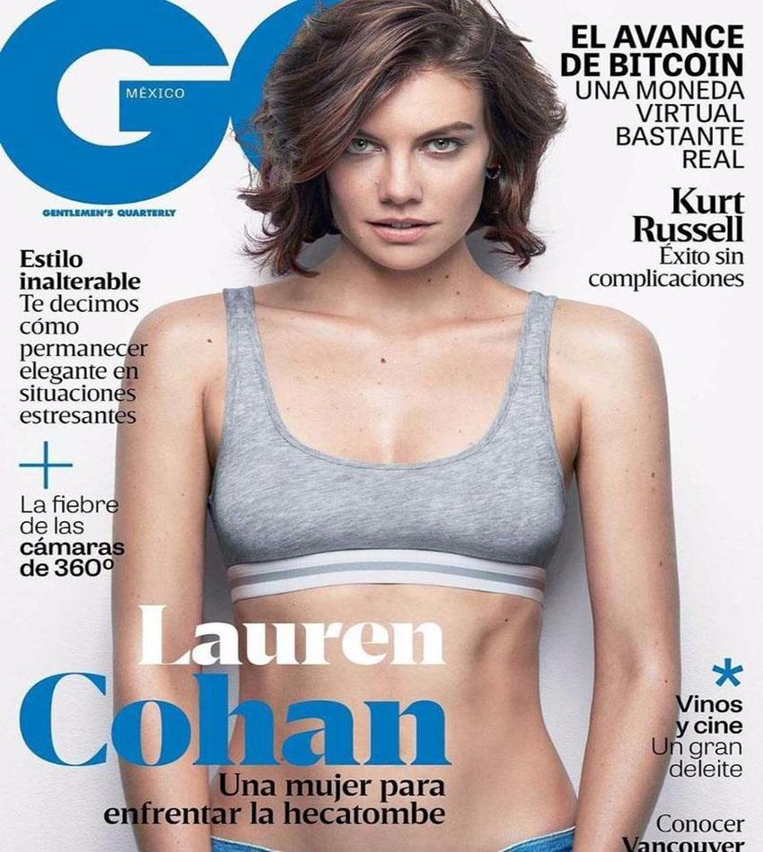 Lauren Cohan - GQ Mexico Magazine (February 2017)