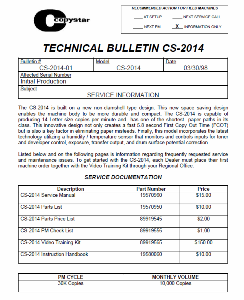 service - Инструкции (Service Manual, UM, PC) фирмы Mita Kyocera 0_137e28_b7247411_orig