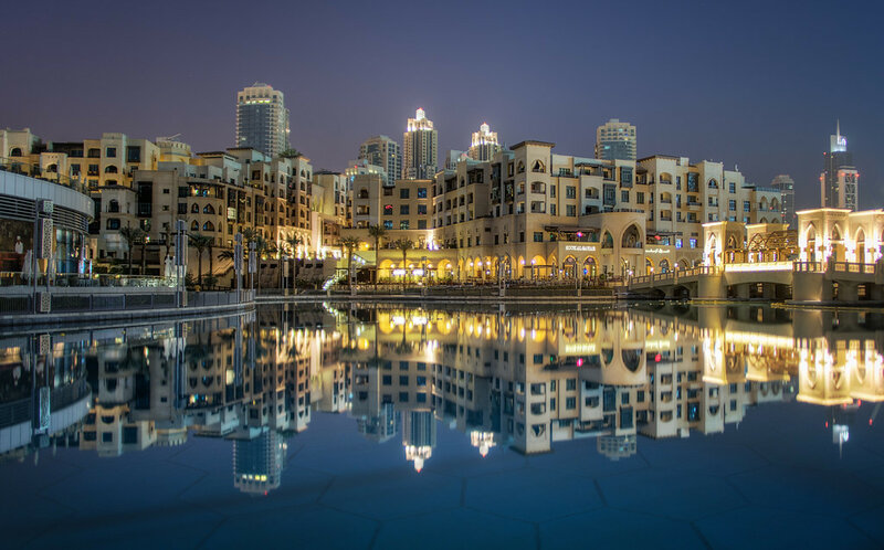 Exploring the Reflections of Dubai.