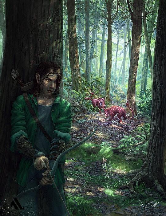 Fantasy Illustrations by Joshua Cairos