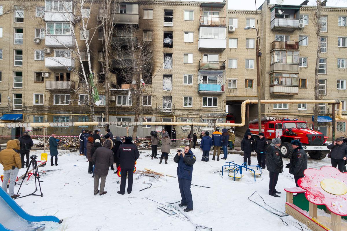 последствия взрыва газа московское шоссе саратов фото 1