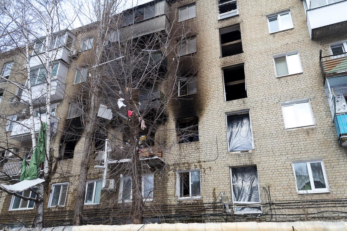 последствия взрыва газа московское шоссе саратов фото 2