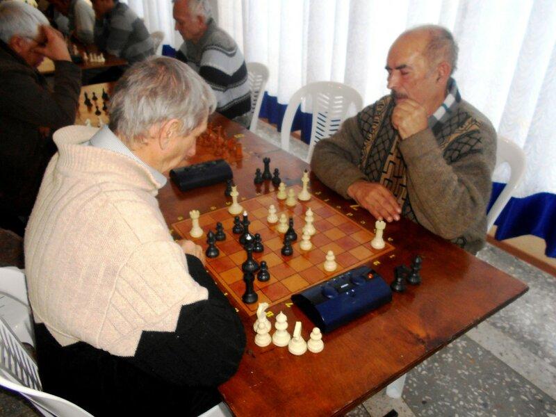 Шахматный турнир. Выселки. Декабрь 2016