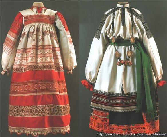 Славянский фартук