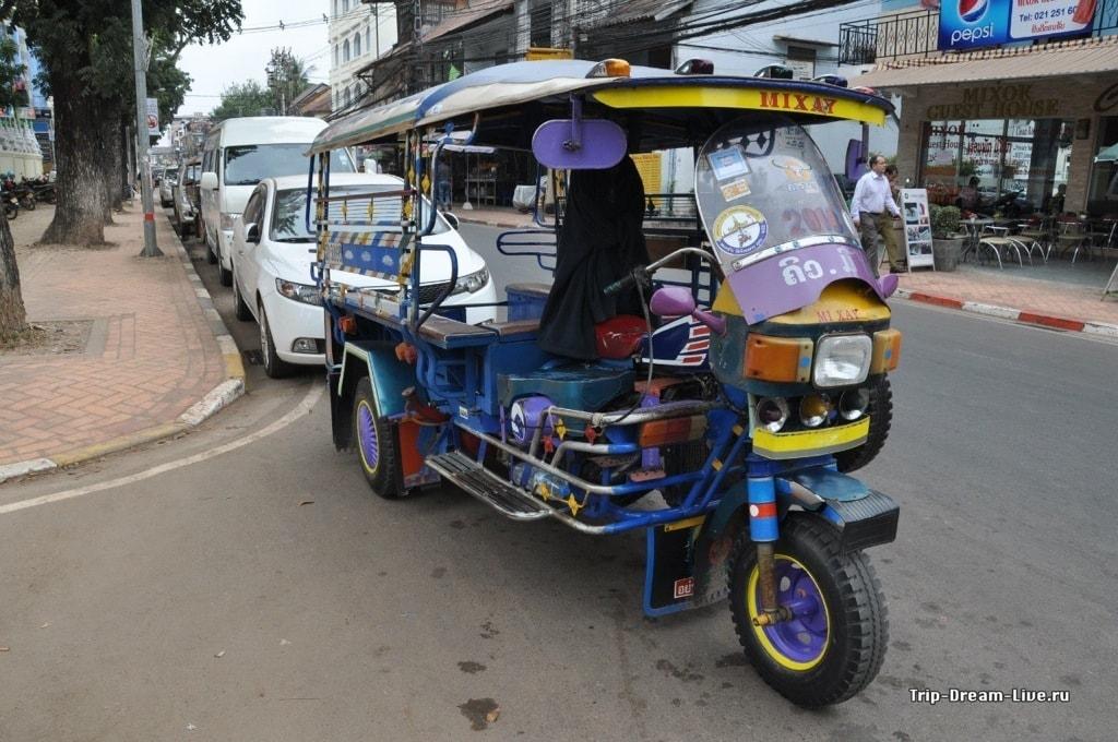 Лаосский тук-тук