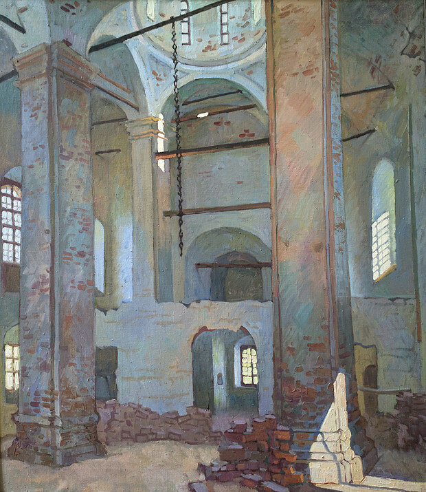 Стекольщикова К.А. - Сергиевский храм. 2011.jpg