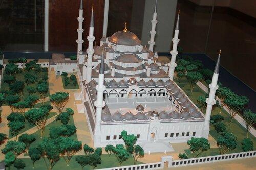 Макет мечети 4