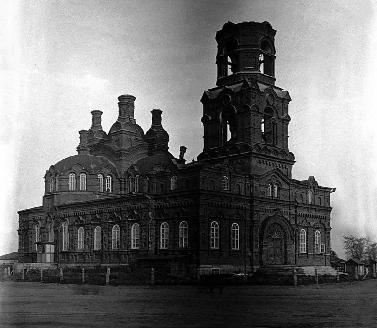 Челябинск. Челябинский областной краеведческий музей в здании Свято-Троицкой церкви. 1935