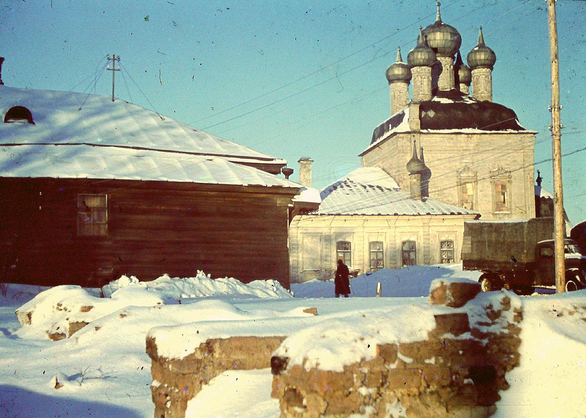 Вязьма. Церковь Спаса Преображения