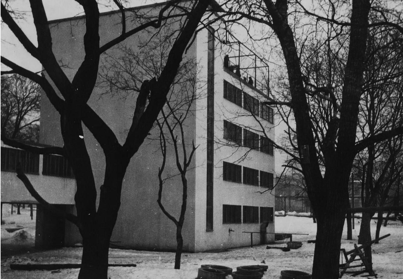 Ансамбль экспериментального жилого дома Наркомфина с коммунальными зданиями