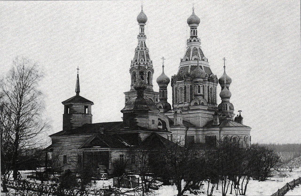 Окрестности Луги. Бутково. Церкви Покрова Пресвятой Богородицы