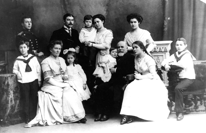 Окрестности Луги. д. Домкино.  Фотография семьи С.П. Глазенапа
