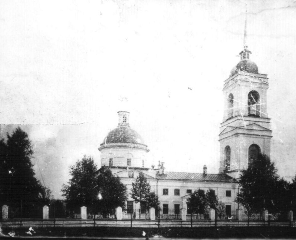 Церковь Бессребреников Косьмы и Дамиана Грязовецкого уезда