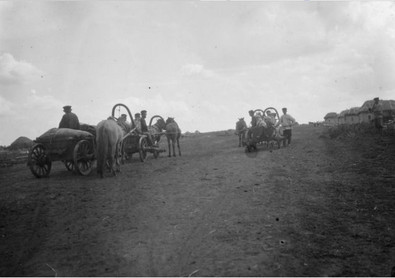 Мобилизованные на пути в Бугуруслан