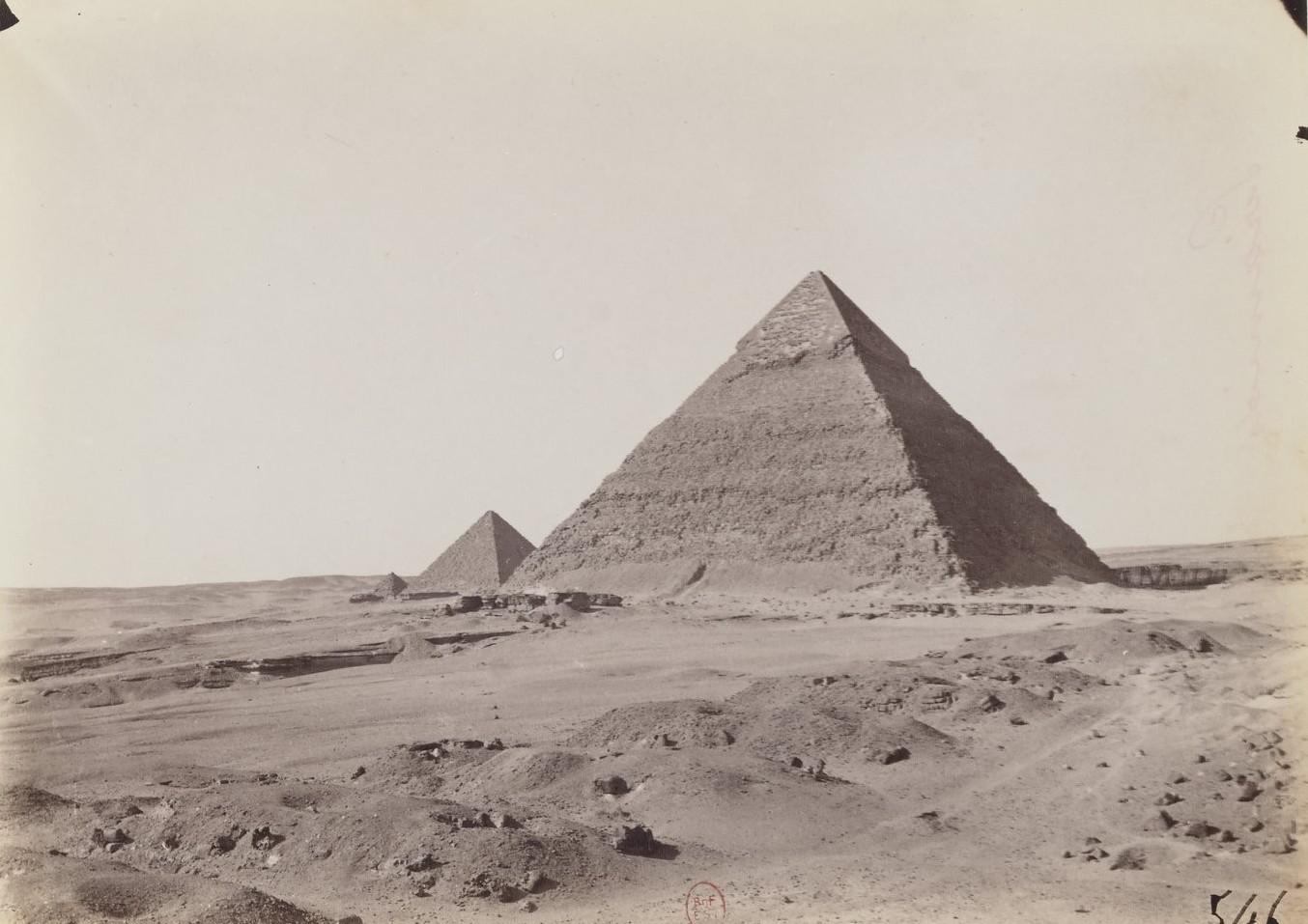 Гиза. Пирамиды. 1873