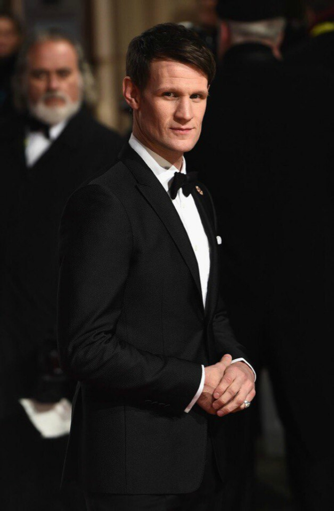 Matt Smith.  BAFTA..jpg