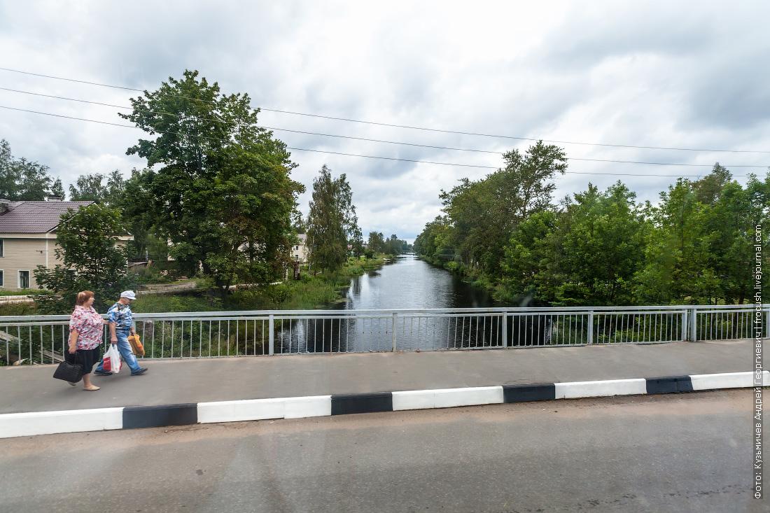 новая ладога Петровский канал