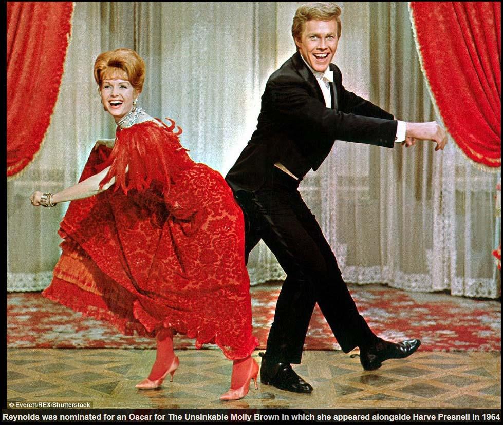 """Дебби Рейнольдс в """"Непотпляемой Молли Браун"""", 1964"""