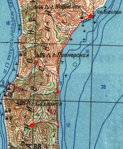 Карта маршрута 15 августа