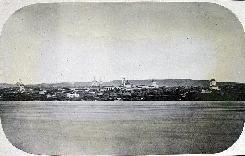 1863 Саратов. Вид с Волги. Антон Муренко.jpg
