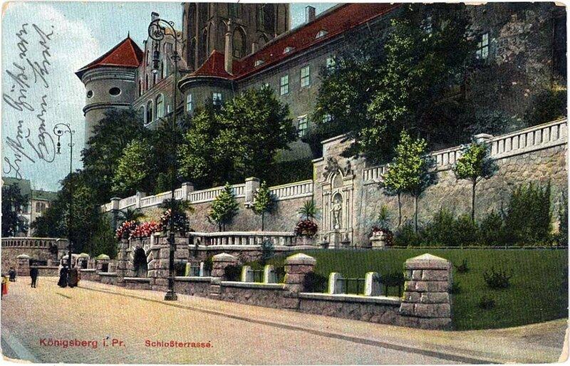 1900е Ниша скульптуры Фридриха Вильгельма I на южной стене Королевского замка3.jpg