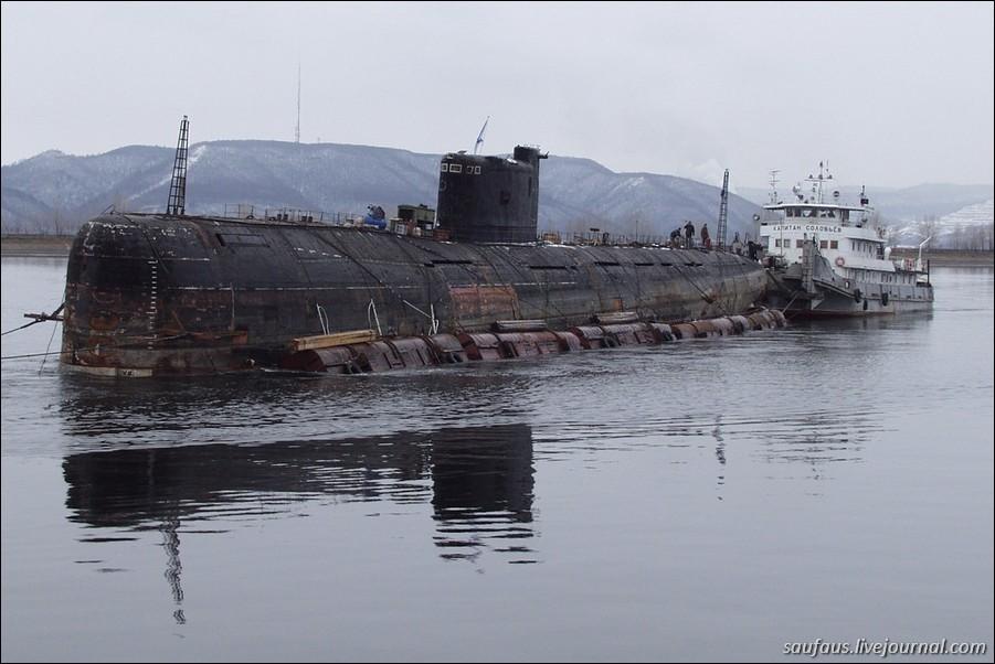 как в тольятти везли подводную лодку фото