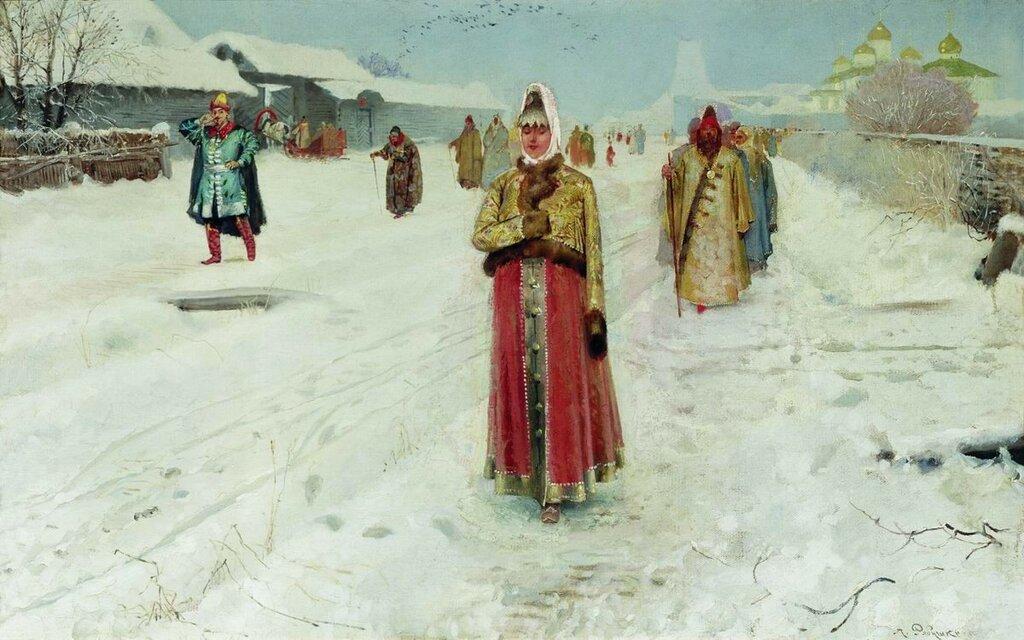 Воскресный день. 1889.jpg