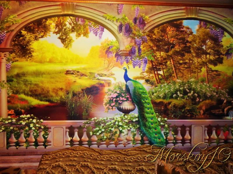 Райский сад, или как мы зал обновили))