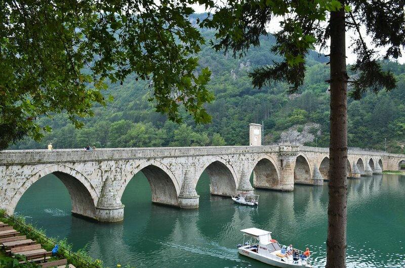 Знаменитый мост на Дрине
